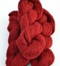 2-trådigt ullgarn Röd