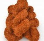 2-trådigt ullgarn Orange