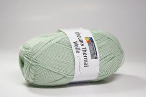 fine wool mintgrön