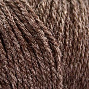 No. 4 Organic Wool + Nettles Choko Brun