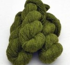 2-trådigt ullgarn Gräsgrön
