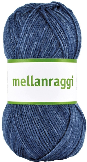 Mellanraggi Jeansblå Denim