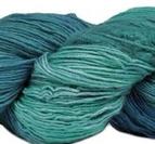 Silk Blend Fino Peacock Plume